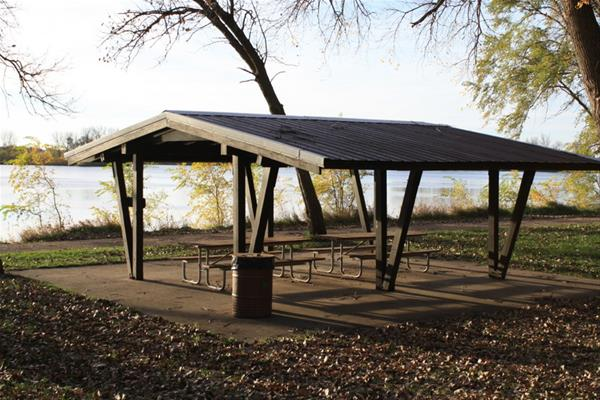 Open Shelter- Big Sioux Rec. Area -No Image