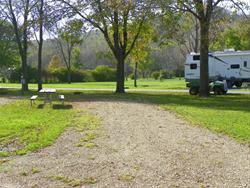Swiss Valley Campground: Campsite 40 -No Image