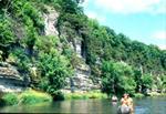 Canoeing the Upper Iowa River in Winneshiek County, IA