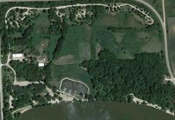 Google Earth view of Lake Cornelia Park and Campground