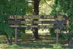 Alton Roadside Entrance Sign