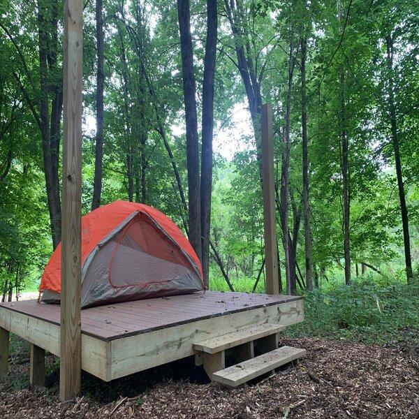 01 Twin Springs Tent Platform -No Image