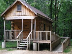 Wood Duck Cabin at Rock Creek Marina & Campground