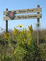 Peterson Prairie sign