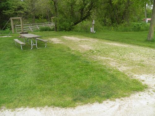 Fillmore Rec Area: Campsite 08 -No Image