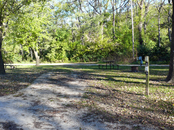 Bentonsport Campground site 05 -No Image