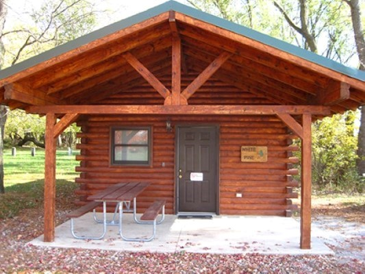 Little Sioux White Pine Cabin 1 Rm 6 Person -No Image