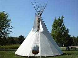 Tepee at Kuehn