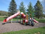 Part of the playground at Gouldsburg Park