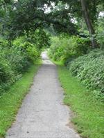 Recreational trails at the Foothills Park portion of Glenwood Archaeological State Preserve