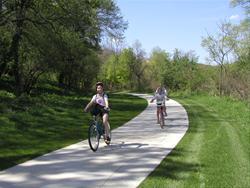 Pleasant Valley Trail in Moorehead Park