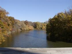 Three Rivers Trail overlooking the Des Moines River