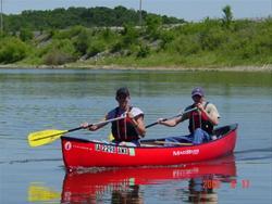 Canoeing at Roberts Creek