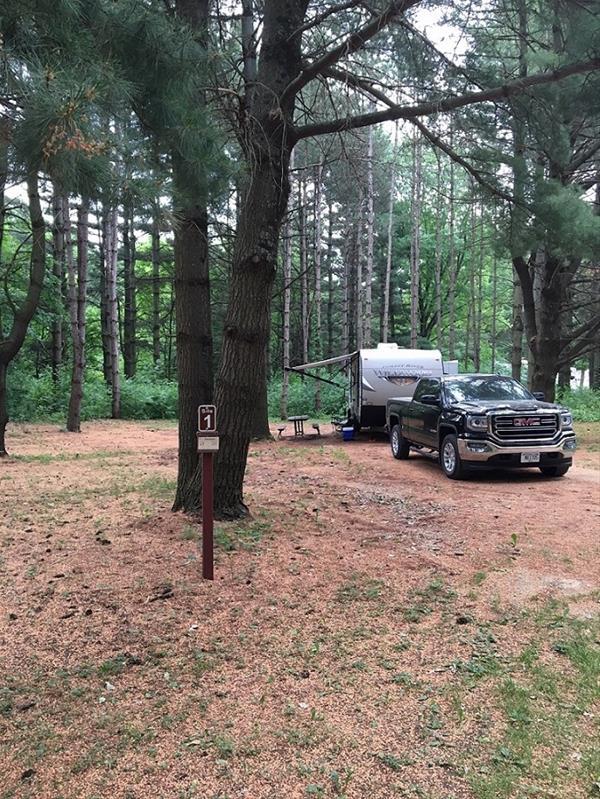 Fontana Park Campsite #1 -No Image