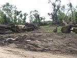Damage done by the EF-5 tornado.