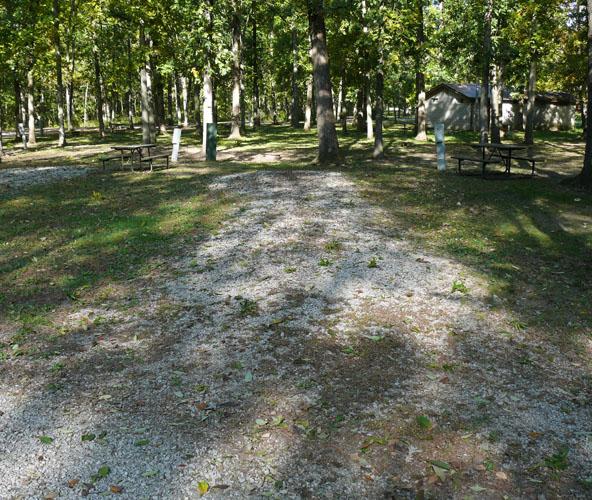 Morris Campground site 08 -No Image