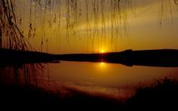 Sunset at Crawford Creek Recreation Area