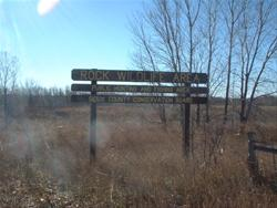Entrance Sign at Rock Wildlife Area