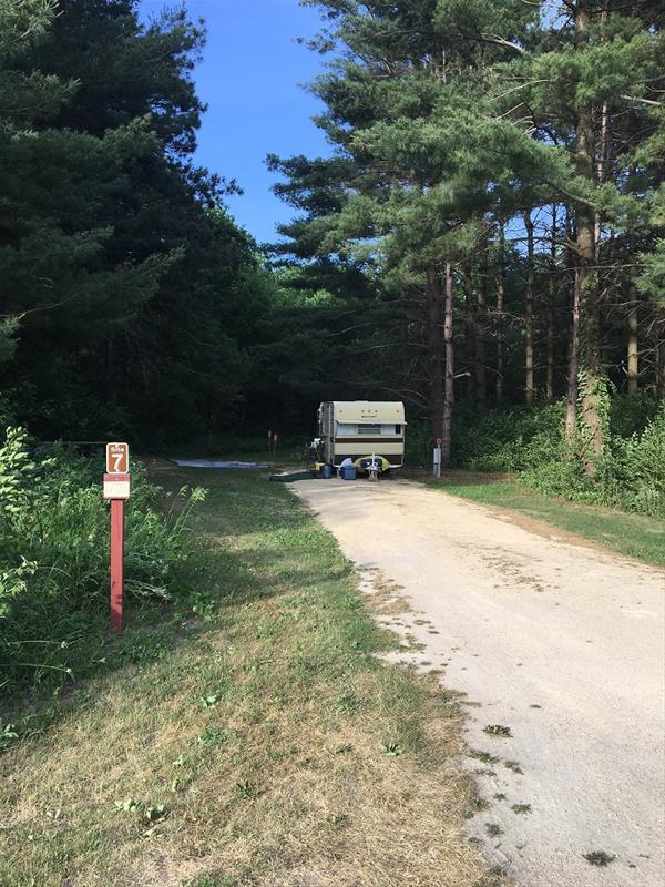 Fontana Park Campsite #7 -No Image