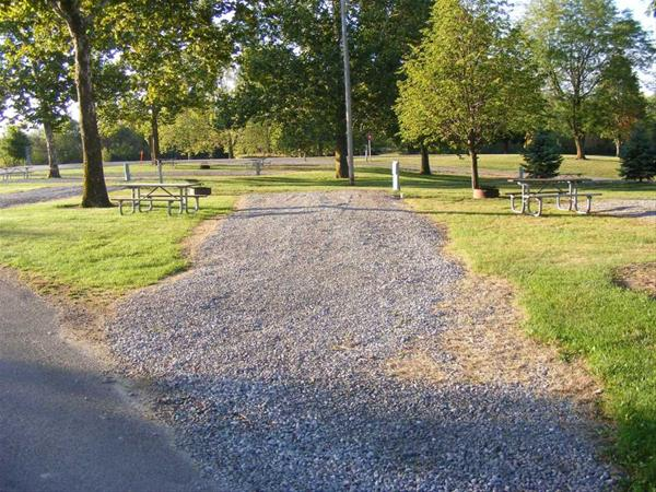 Marion County Park, Campsite #42 -No Image