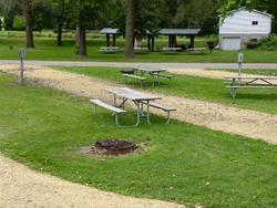 Mud Lake Park: Campsite 30 -No Image