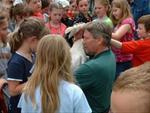 Trumpeter swan reintroduction program