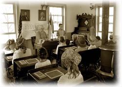 Historic Abbe Creek School near Mt. Vernon - Linn County, IA