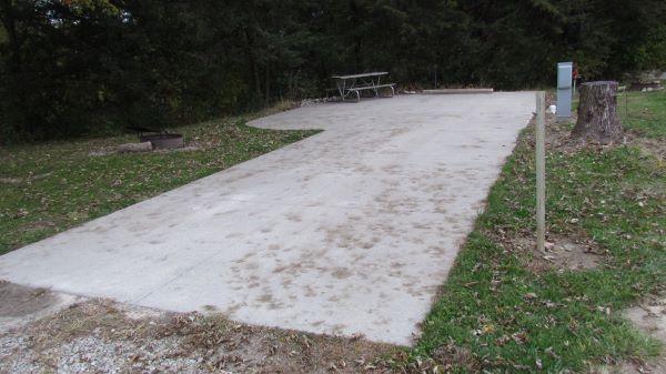 Wilson Lake Campsite #04 Reservable -No Image