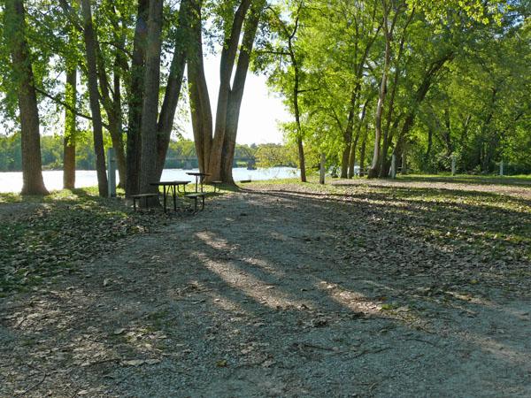 Bentonsport Campground site 16 -No Image