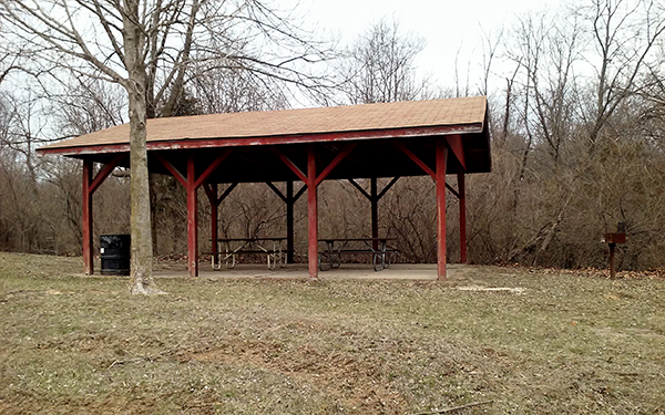 Big Hollow RV campground shelter house