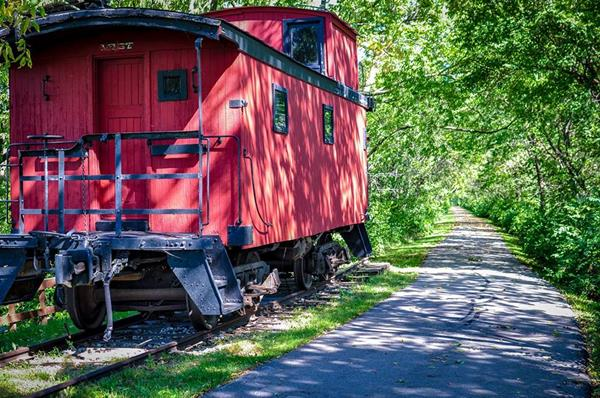 Ringgold Trailway Caboose Museum -No Image