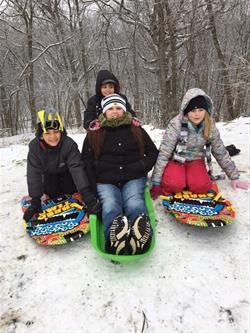 Squaw Creek sledding