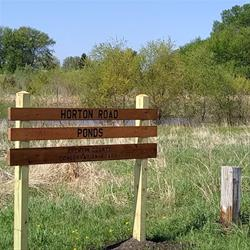 Horton Road Ponds Sign