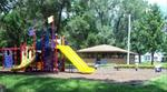 Playground & shelter at Jack Shuger Memorial Park
