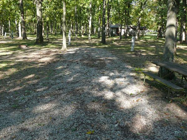 Morris Campground site 09 -No Image