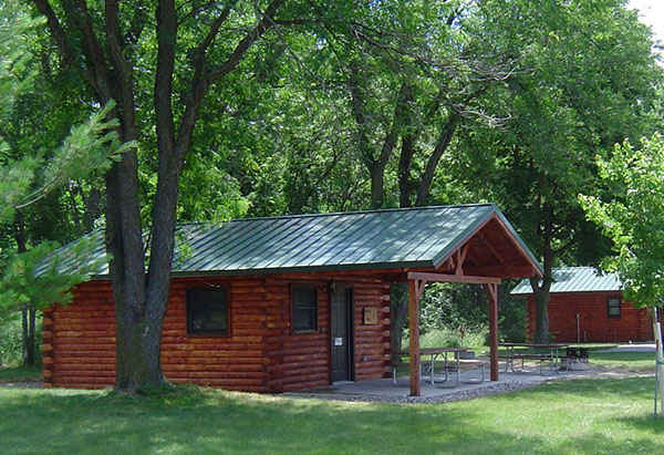 Little Sioux Cabin - Side View