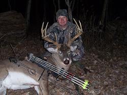 Trophy buck during bow season - Linn County, IA