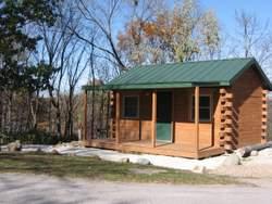 Camping Cabin at Kennedy Park -No Image