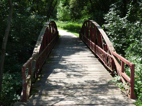Yellow Smoke Park Historic Rainbow Truss Bridge -No Image