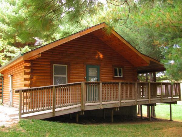 Deluxe Cabin White Pine -No Image