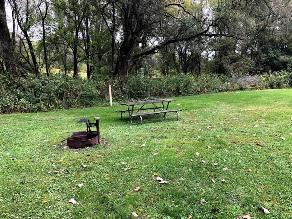 Big Spring Campground, Campsite #2 -No Image