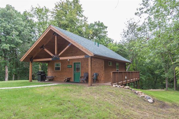 Jester Park Cabin 2- Cedar-one bdrm, cap. six -No Image