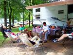 Camping in Central Park - Jones County Conservation