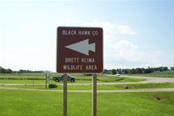 Brett Klima Entrance off of highway 218