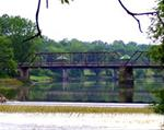 Historic Skunk River Bridge - Oakland Mills Park, Henry County, IA