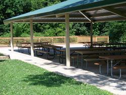 Newly renovated shelter #4