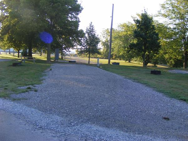 Marion County Park, Campsite #47 -No Image