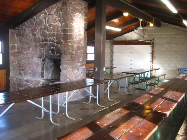 Bigelow Park Shelter - Interior