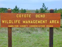 Coyote Bend Sign