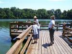 Handicap fishing pier